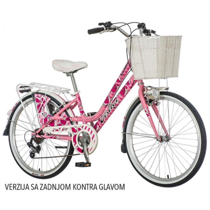 "Bicikl Visitor Fashion Secret Garden 20""/11"" sa Zadnjom Kontra Glavom"