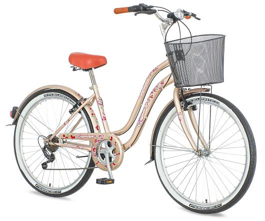 "Bicikl Explorer Cherry Blossom Braon Belo 26""/18"""