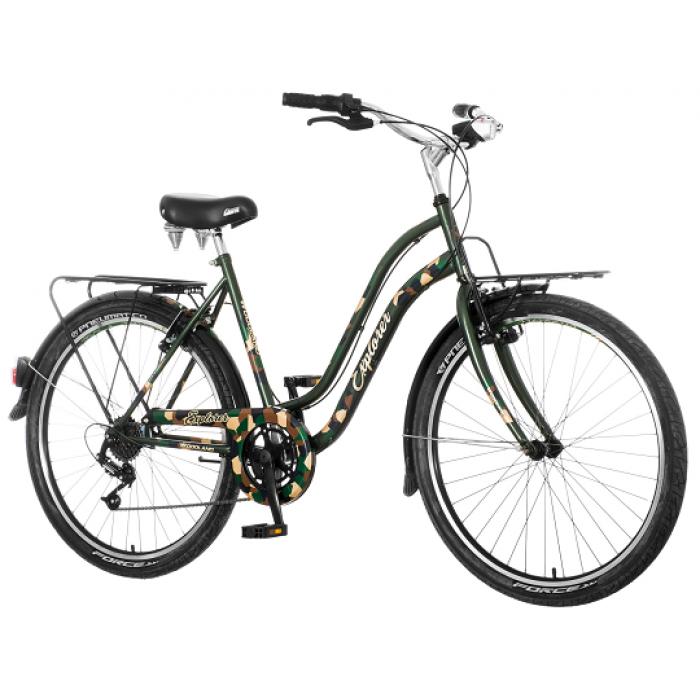 "Bicikl Explorer Elite City Military Zeleno Braon 26""/18"""