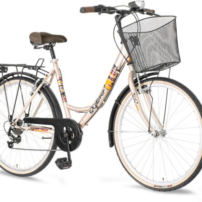 "Bicikl Explorer Elite City Krem Narandzasti 26""/18"""