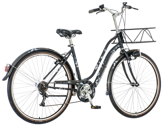 "Bicikl Visitor Splittertarn Crno Sivi 28""/19"""