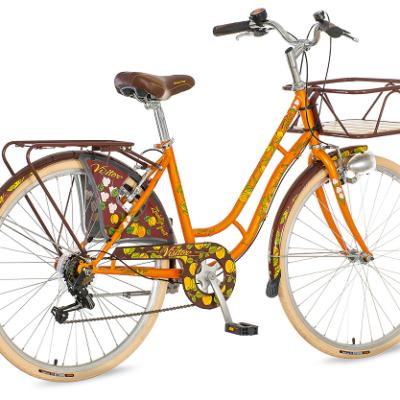 "Bicikl Visitor Zerdelija Narandzasto Braon 26""/17"""