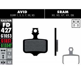 Pločice GALFER za disk kočnicu Avid Elixir XX
