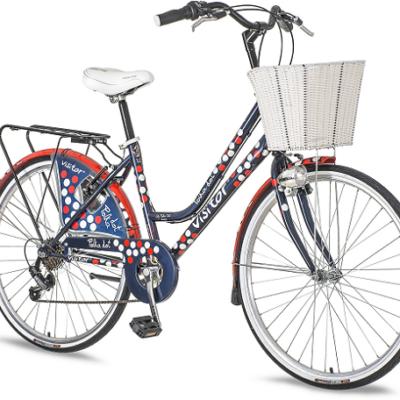 """Bicikl Visitor Polka Dot Plavo Crveno Beli 26""""/17"""""""