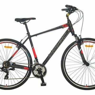 "Bicikl Polar Helix black-red 28"""
