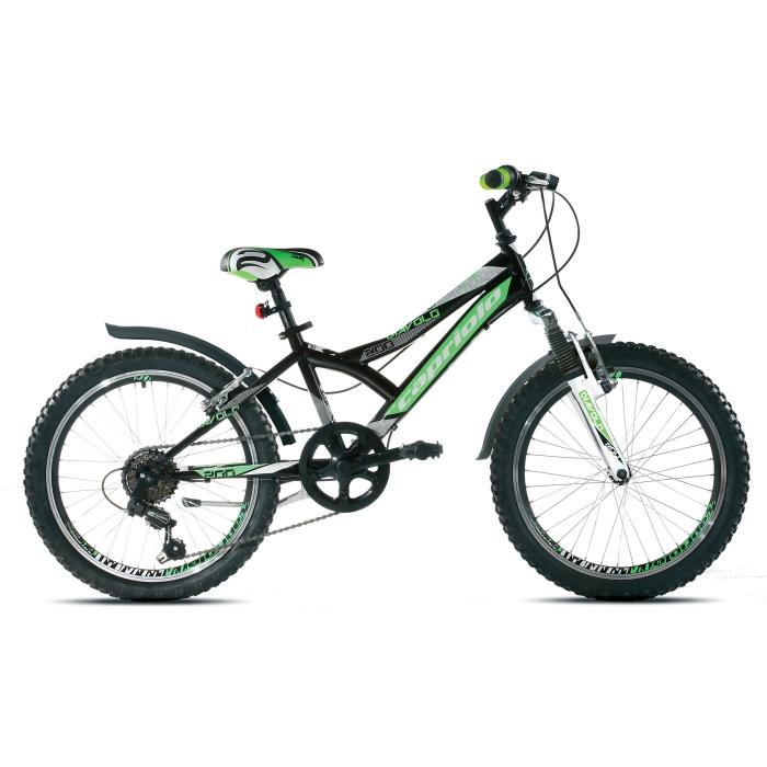 Bicikl Capriolo Diavolo 200 prednji amortizer crno zeleni