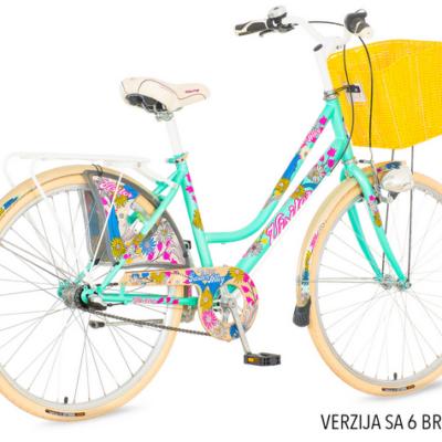 Bicikl Visitor Fashion Garden Alley 6 brzina