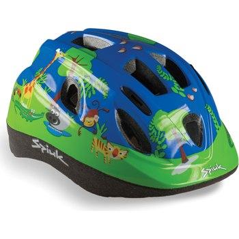 Kaciga dečija Spiuk Jungle plavo zelena 52-56