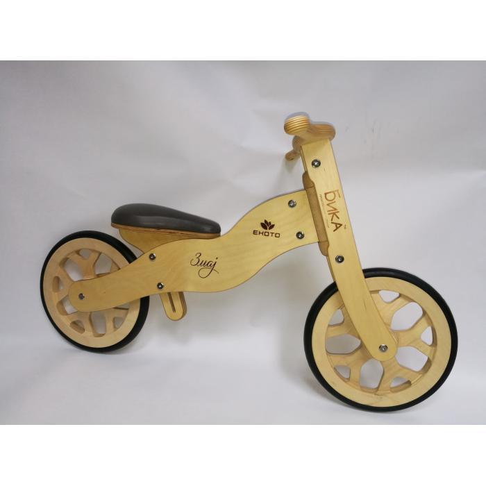 Bicikl bez pedala - drveni bicikl balans bajk BIKA Zmaj