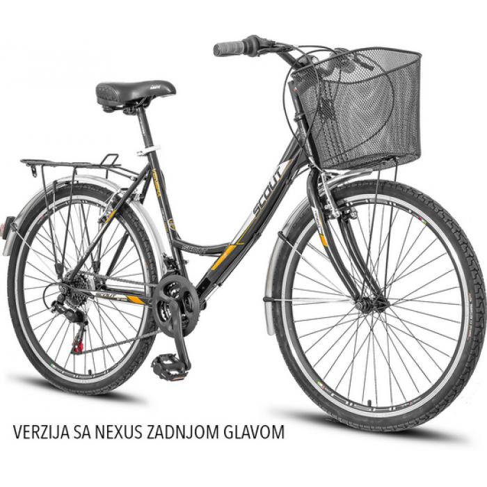 Bicikl Scout Venera 26'' sa 3 brzine - Shimano Nexus zadnja glava