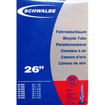 Unutrašnja guma SCHWALBE 26x1,0-1,5 SV12A presta ventil