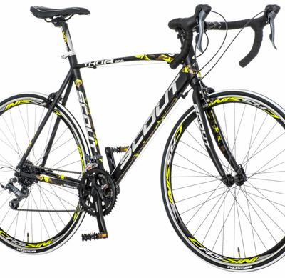 Bicikl Visitor Thor crno zeleno žuti 58cm