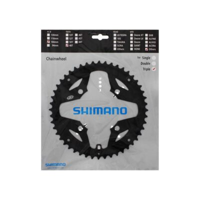 Lančanik srednji  SHIMANO 48 zuba za M391 crni