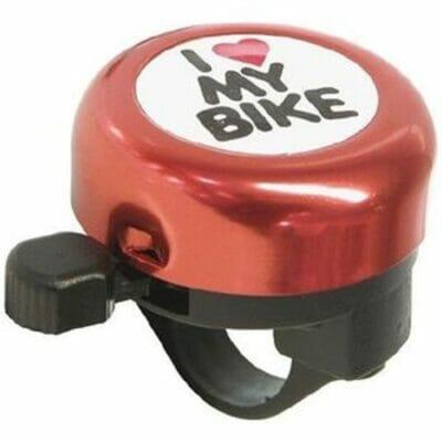 Zvonce I LOVE MY BIKE crveno