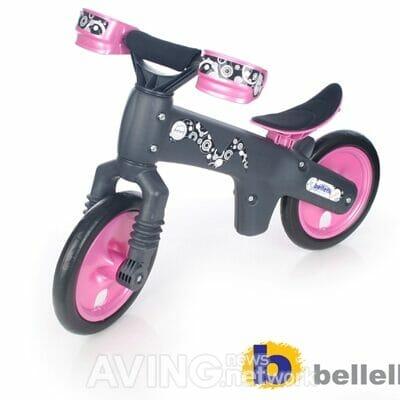 Bicikl bez pedala - balans bajk Bellelli B-BIP rozi