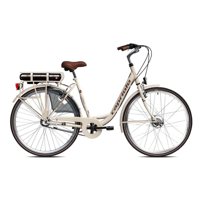 "Električni bicikl Capriolo Diana 28"" bež"