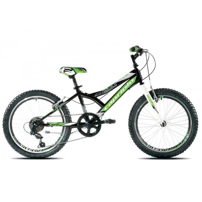 Bicikl Capriolo Diavolo 200 crno zeleni