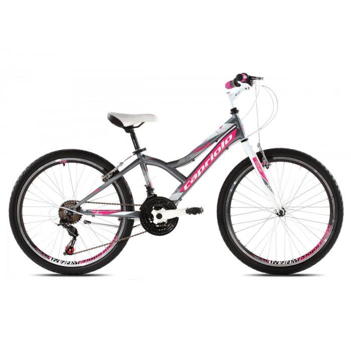 "Bicikl Capriolo Diavolo 400 24"" pink"