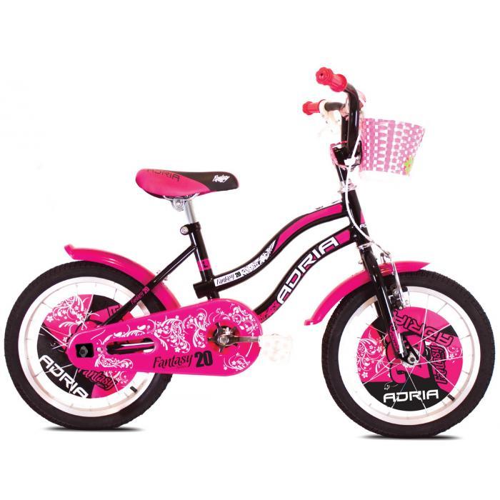 "Bicikl Adria Fantasy 20"" crno pink"