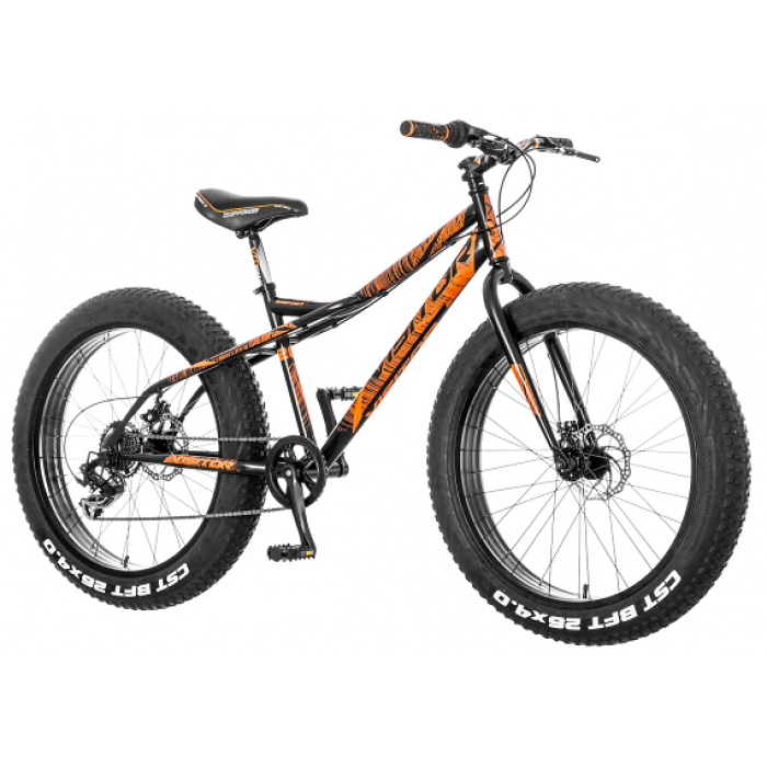 "Bicikl Visitor Bigfoot Crno Narandzasti 26""/16"""