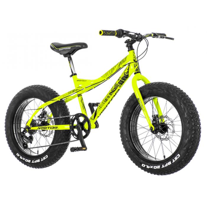 "Bicikl Visitor Bigfoot Zeleno Crni 20""/14"""