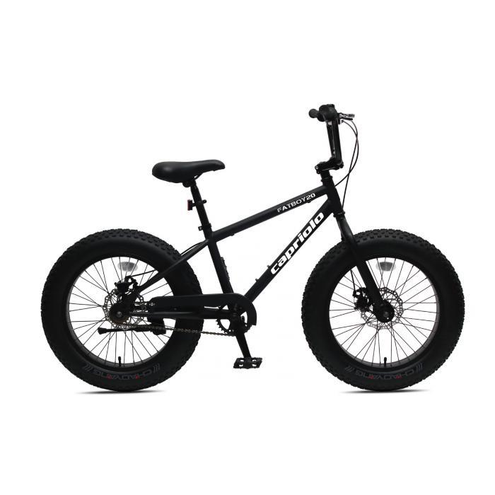 "Bicikl Capriolo FatBoy 20"" crni"