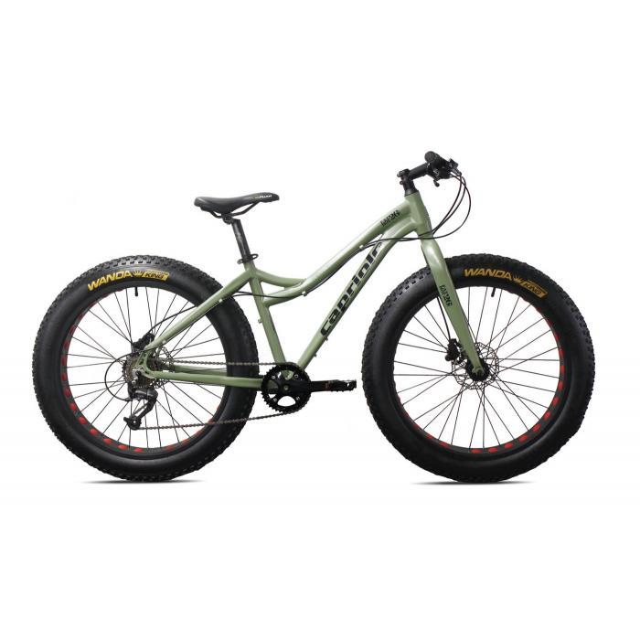 "Bicikl Capriolo FatBoy aluminijum 26""x4"