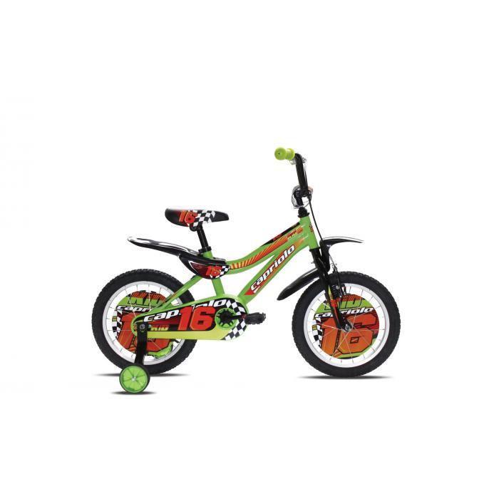 """Bicikl Capriolo Kid zeleni 16"""" 2017"""