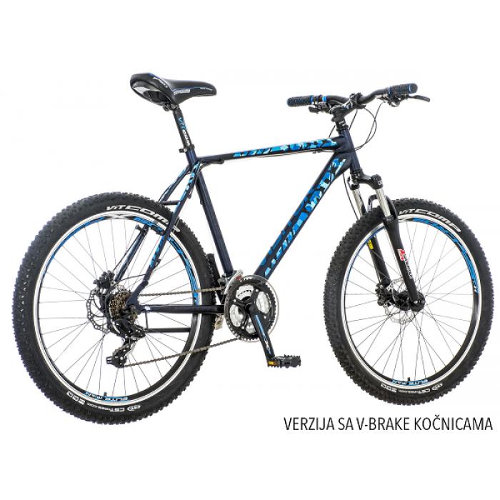 """Bicikl Visitor Master Plavo Crni  26""""  / 21"""" V-Brake"""