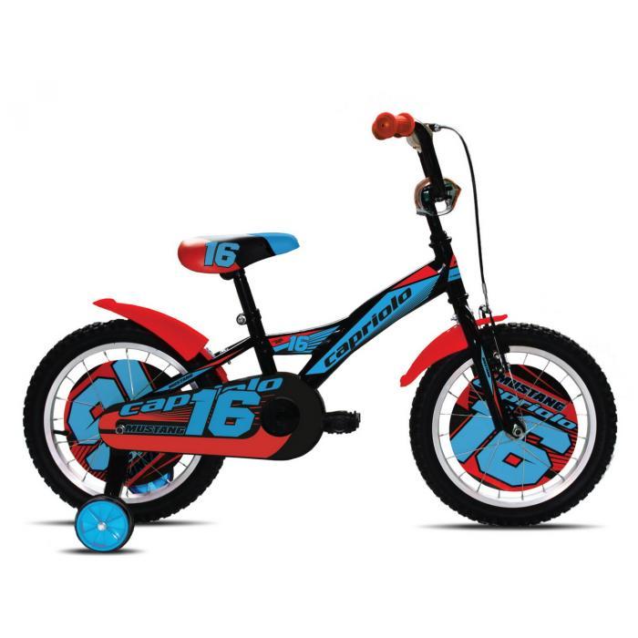 "Bicikl Capriolo Mustang crveni 16"""