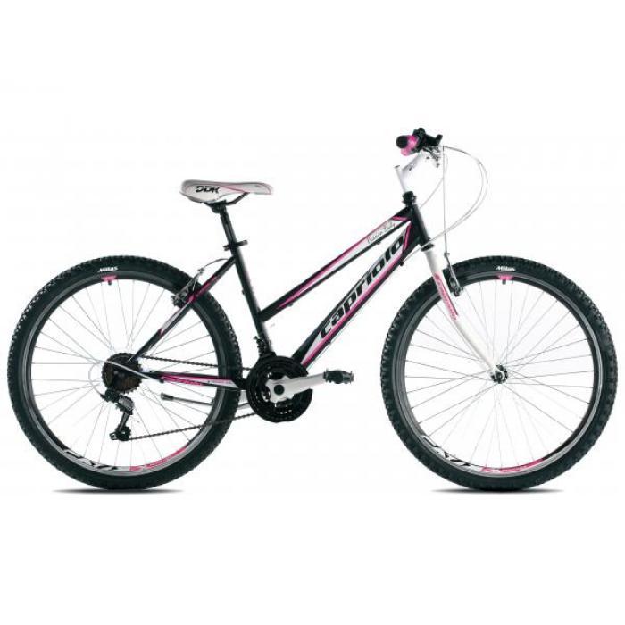 Bicikl Capriolo Passion Lady 26 crno pink