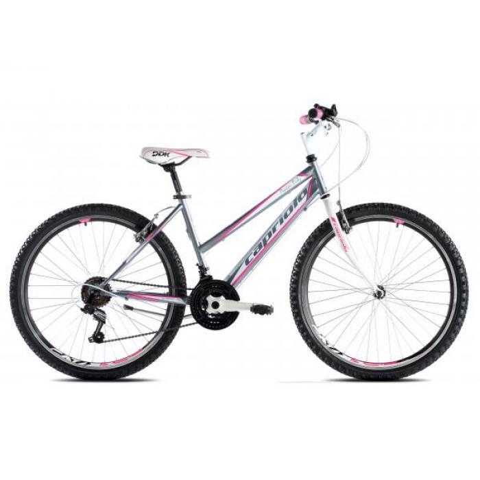 Bicikl Capriolo Passion Lady 26 sivo pink