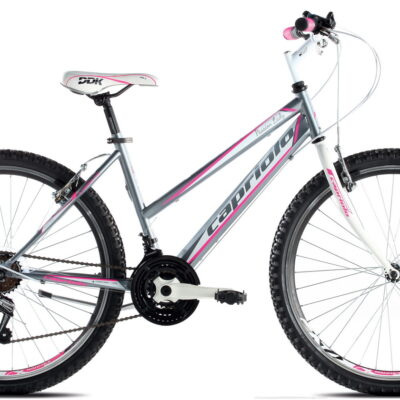 Bicikl Capriolo Passion Lady sivo pink 19""
