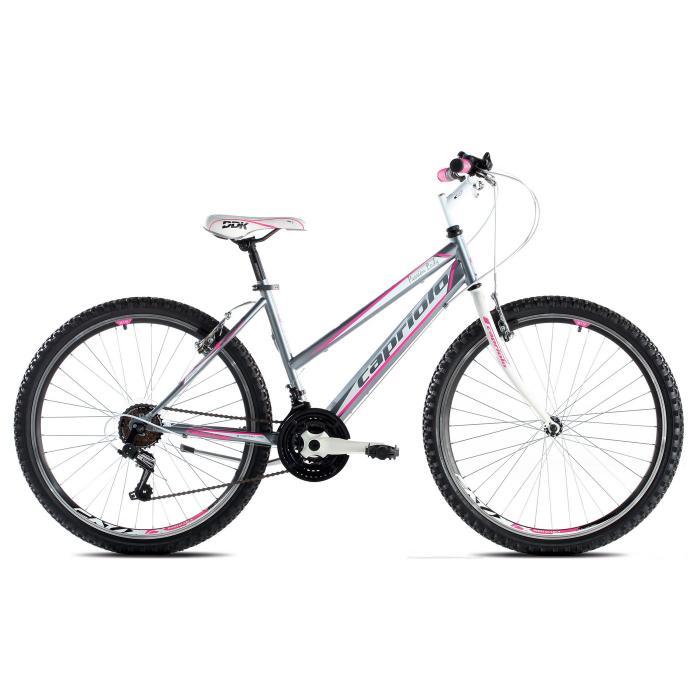 "Bicikl Capriolo Passion Lady sivo pink 19"""
