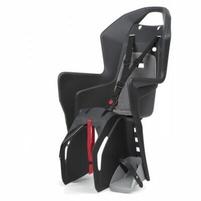 Korpa za dete - montaža na prtljažnik POLISPORT Koolah tamno siva