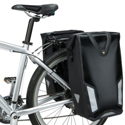 Torba - bisage za na prtljažnik Topeak Drybag DX crne