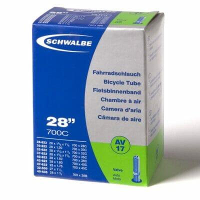 "Unutrašnja guma SCHWALBE 28"" (25/47-622) auto ventil"