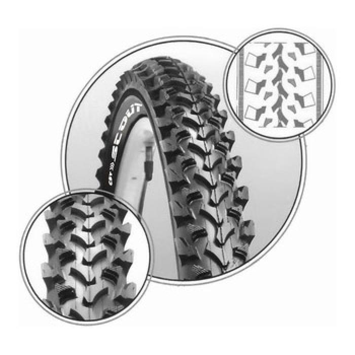 Spoljna guma CST 24x1.95  C1119