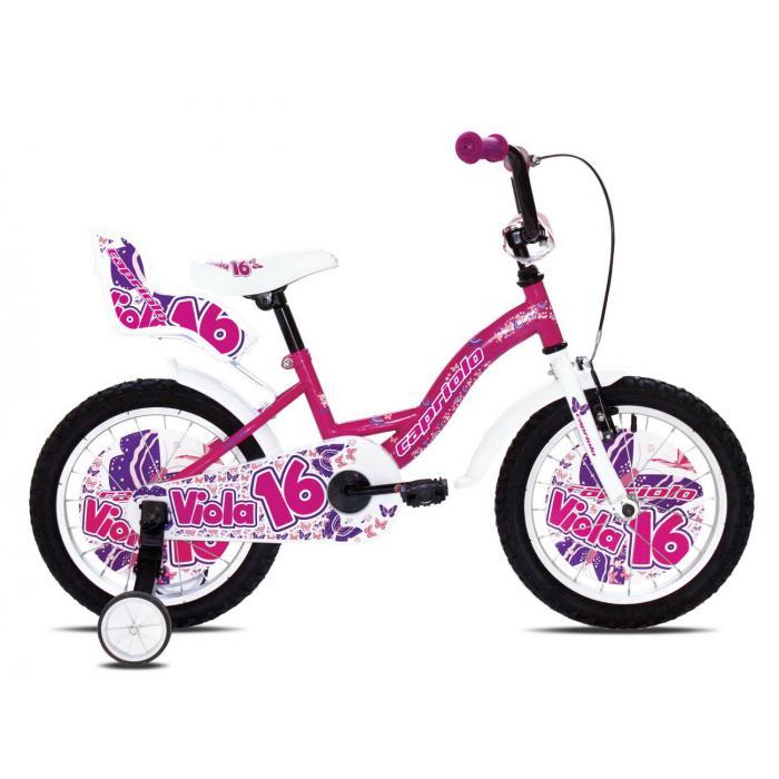"Bicikl Capriolo Viola roze 16"""