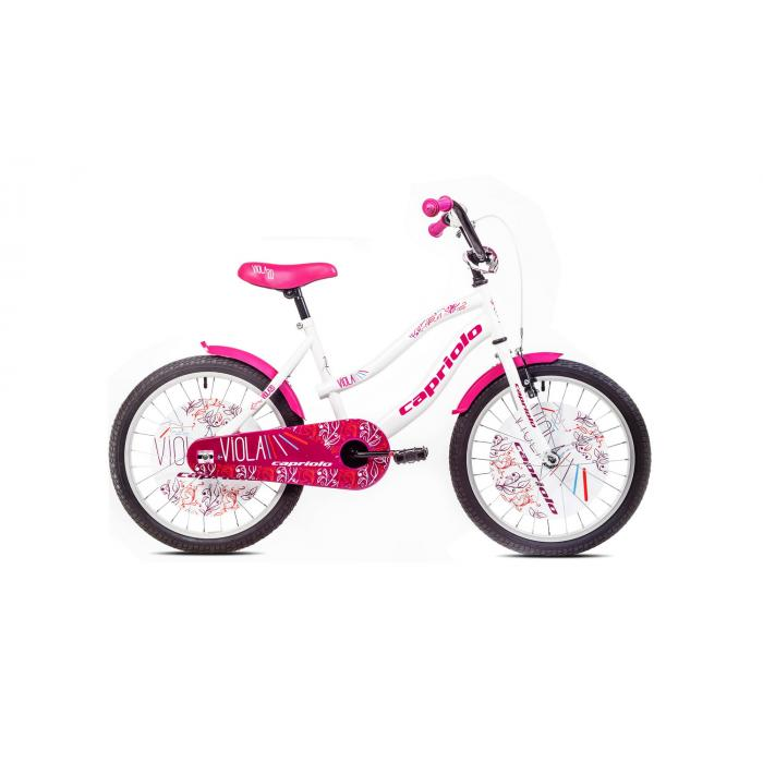 "Bicikl Capriolo Viola bela 20"""