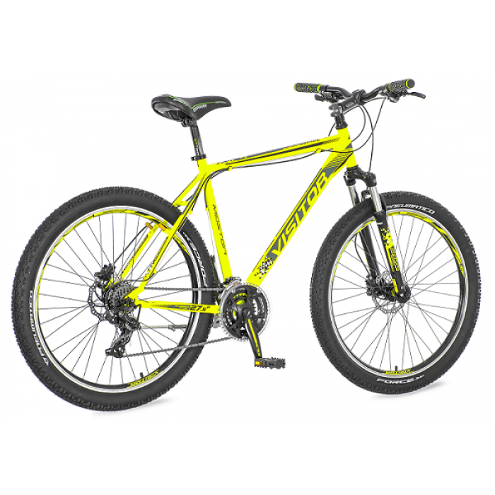 Bicikl Visitor Master Zeleno Crno Sivi 27