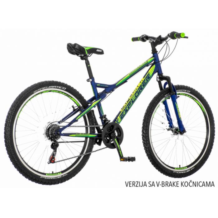 "Bicikl Explorer Vortex plavo zeleni 26""/16"""