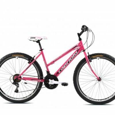 Bicikl Capriolo Passion Lady pink-beli
