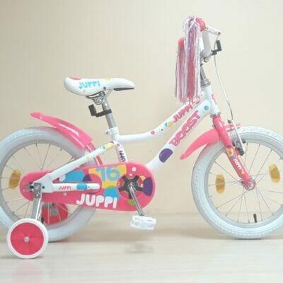 Bicikl Boost Juppi 16 belo pink