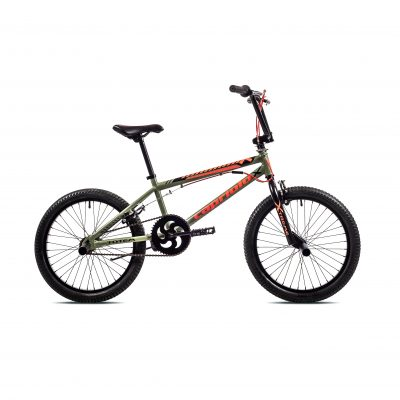 Bicikl Capriolo Totem BMX Zeleno narandžasti