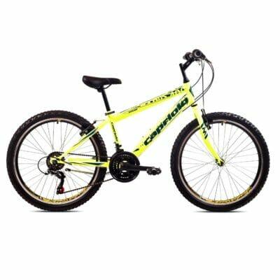 "Bicikl Capriolo Rapid 24"" neon žuto 919340-13"