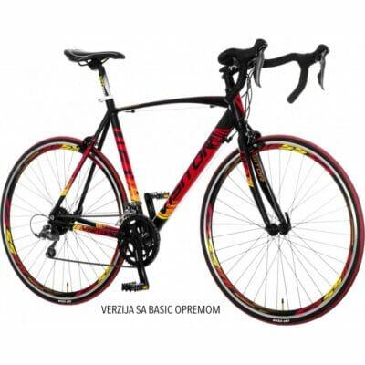 Bicikl VISITOR DISCOVERY F1 CRNO CRVENO ŽUTI