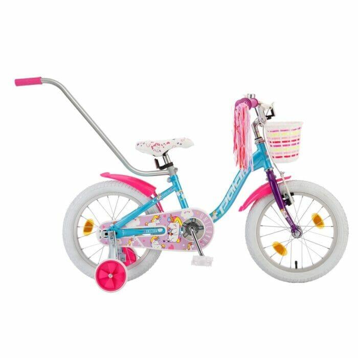 Bicikl Polar Junior girl 14 Unicorn baby B142S00203