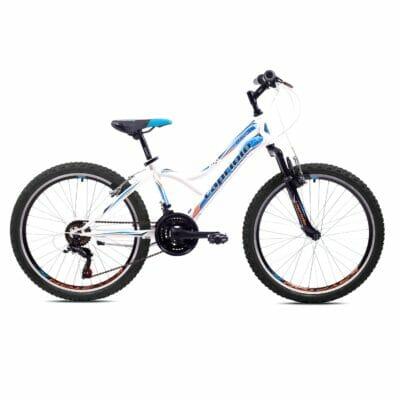 Bicikl Capriolo Diavolo 400 belo plavi sa prednjim amortizerom 919308-13