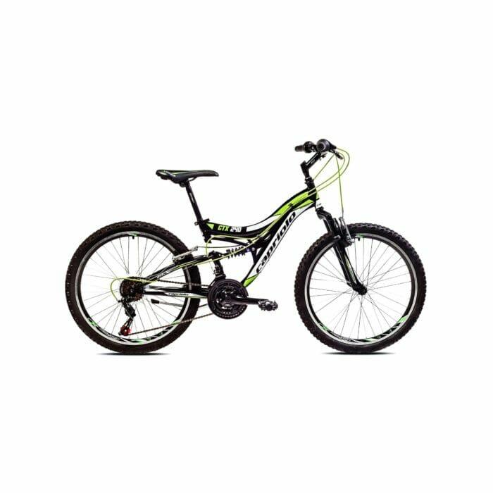 "Bicikl Capriolo CTX 240 24"" zeleni 15"" 917342"